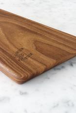 WHOUT Aperitiefplank + houten hanger