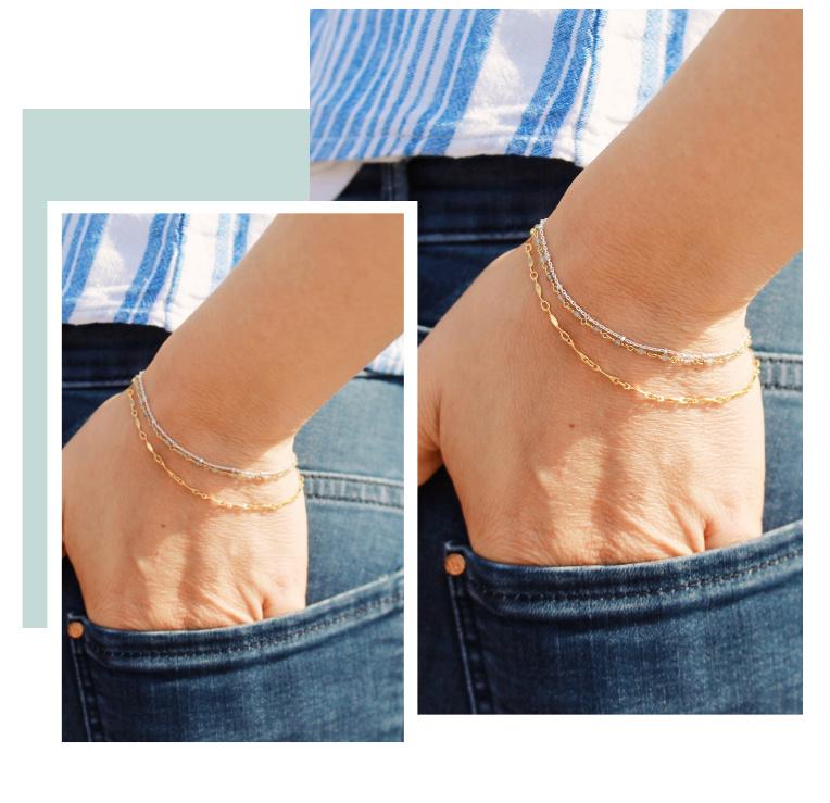 armbanden combineren