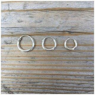 Oorringen basic - 925 zilver