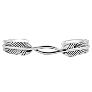 Feather Twist armband - 925 zilver