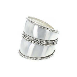 Bali ring Batuan - 925 zilver