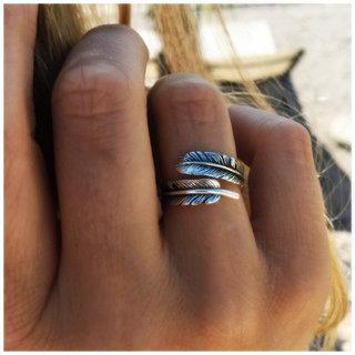 Boho ring Chani - 925 zilver