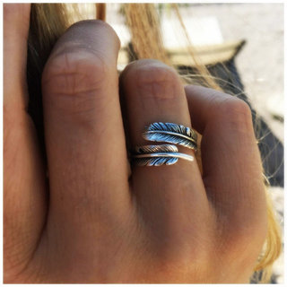 *Pre-order* Boho ring Chani - 925 zilver