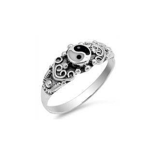 Yin Yang Ring - 925 silver