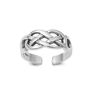 Teenring Celtic - 925 zilver