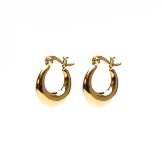 Plain drop hoops - small