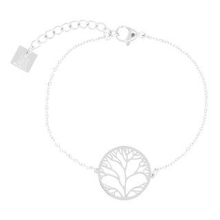 ZAG armband met tree of life zilver