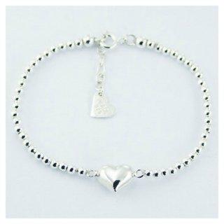 Armbandje Silver Heart - 925 zilver