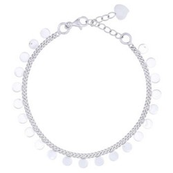 Armbandje Shiny Discs - 925 zilver
