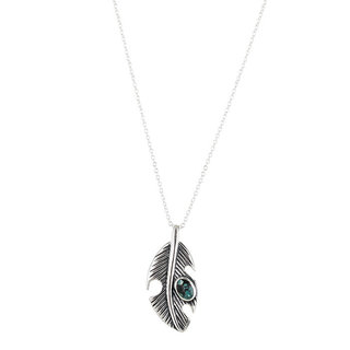 Feather Stone Necklace