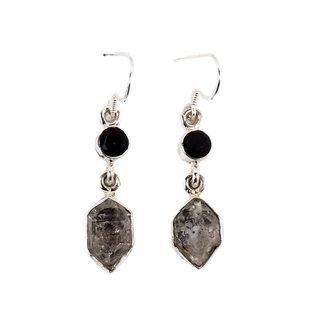 Black Gemstone earrings
