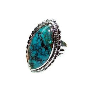 Bohemian ring Tibet Turquoise