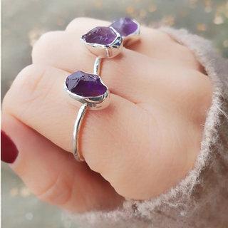 Ring Muara Amethist - 925 zilver