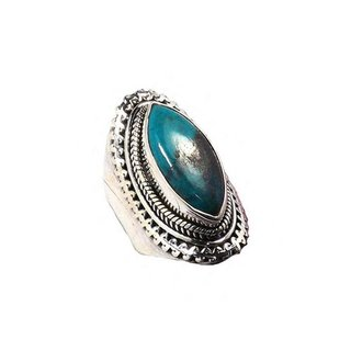 Boho ring Crysocolla