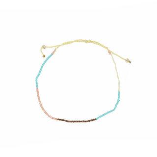 Enkelbandje Beads - Turquoise