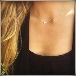 Heart necklace - 925 zilver