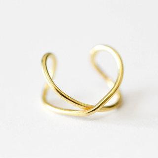 Earcuff twist - goud