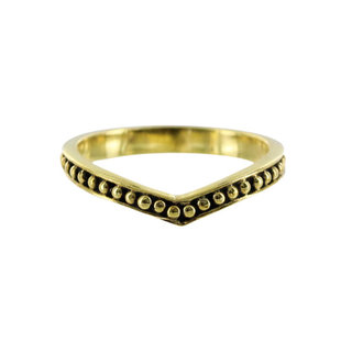 Syansi ring - goldplated