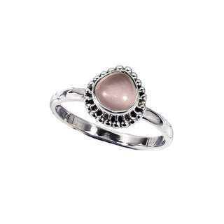 Ring Rose Charm - 925 zilver