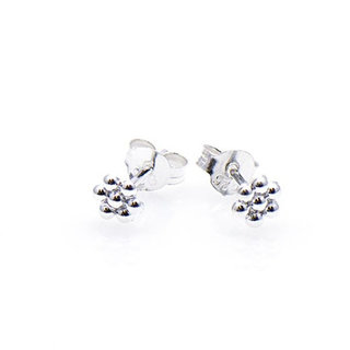 Silver Blossom studs - 925 zilver