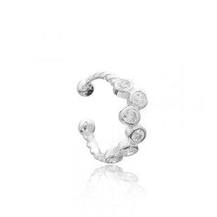 Diamond Constellation earcuff - 925 zilver