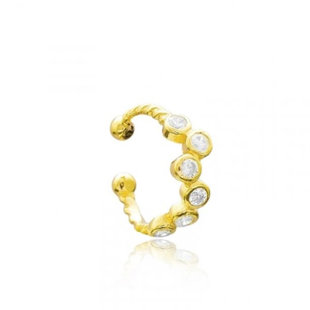 Diamond Constellation earcuff - goud