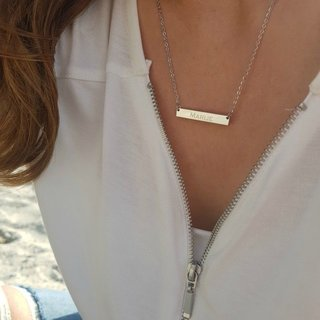 Personal name necklace