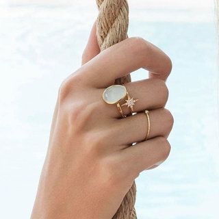 Ring Atapange - gold plated