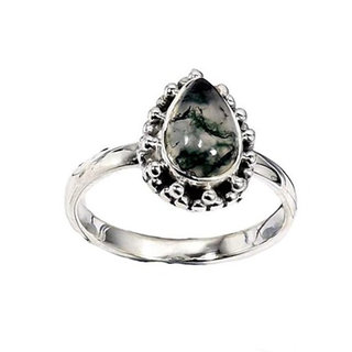 Ring Moss Charm - 925 zilver