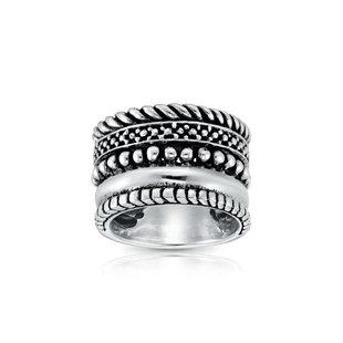 Boho ring Serian - 925 zilver