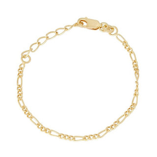 Figaro Chain armband - goldplated