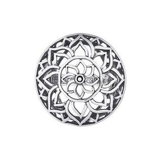 Boho ring Flowery Mandala
