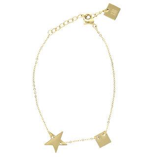 ZAG armband ster goud