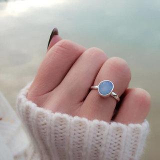 Ring Aussie Doublet - 925 zilver