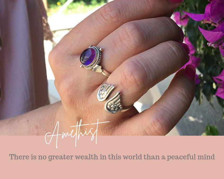 amethist edelsteen sieraden