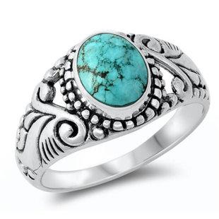 Bali ring Cinta - 925 zilver