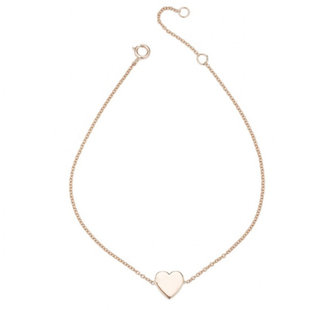 Heart bracelet - goldplated