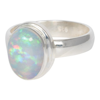 Magic Opaal ring - 925 zilver