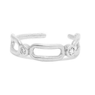 Ear Cuff Cristalito - 925 zilver