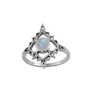 Ring Rainbow Moonstone Persia