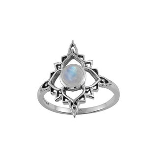 Ring Rainbow Moonstone Persia