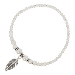 Feather Love armband - 925 zilver