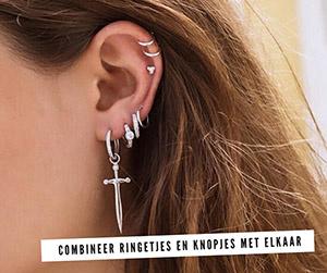 Verbazingwekkend Blog - De leukste oorbellen combinaties om jou te inspireren QW-23
