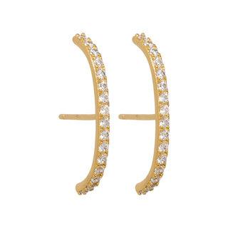 Dulcet earrings - goud