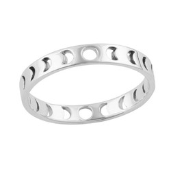 Maanfases ring - 925 zilver