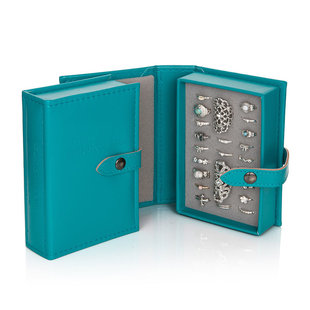 My extra little book of rings - turquoise