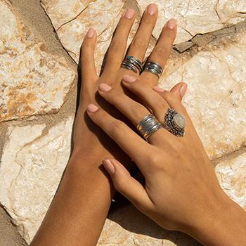 boho ringen combineren