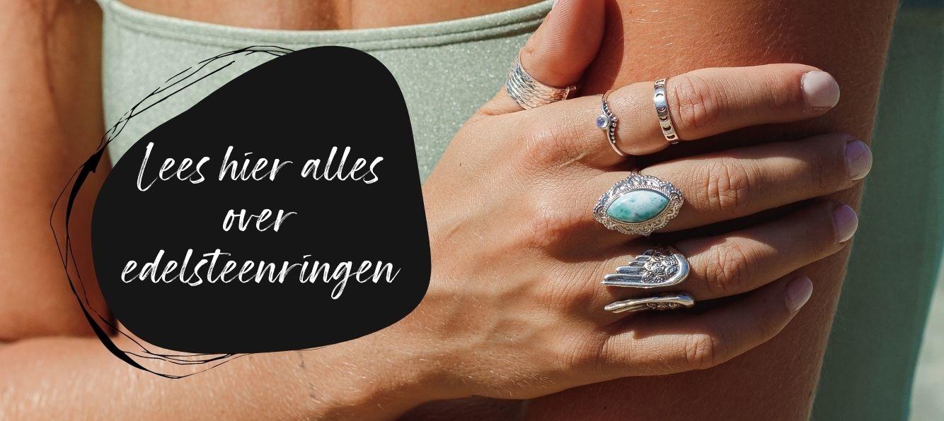 Edelsteen ringen   shop nu de mooiste edelsteen ringen bij My Unique Style