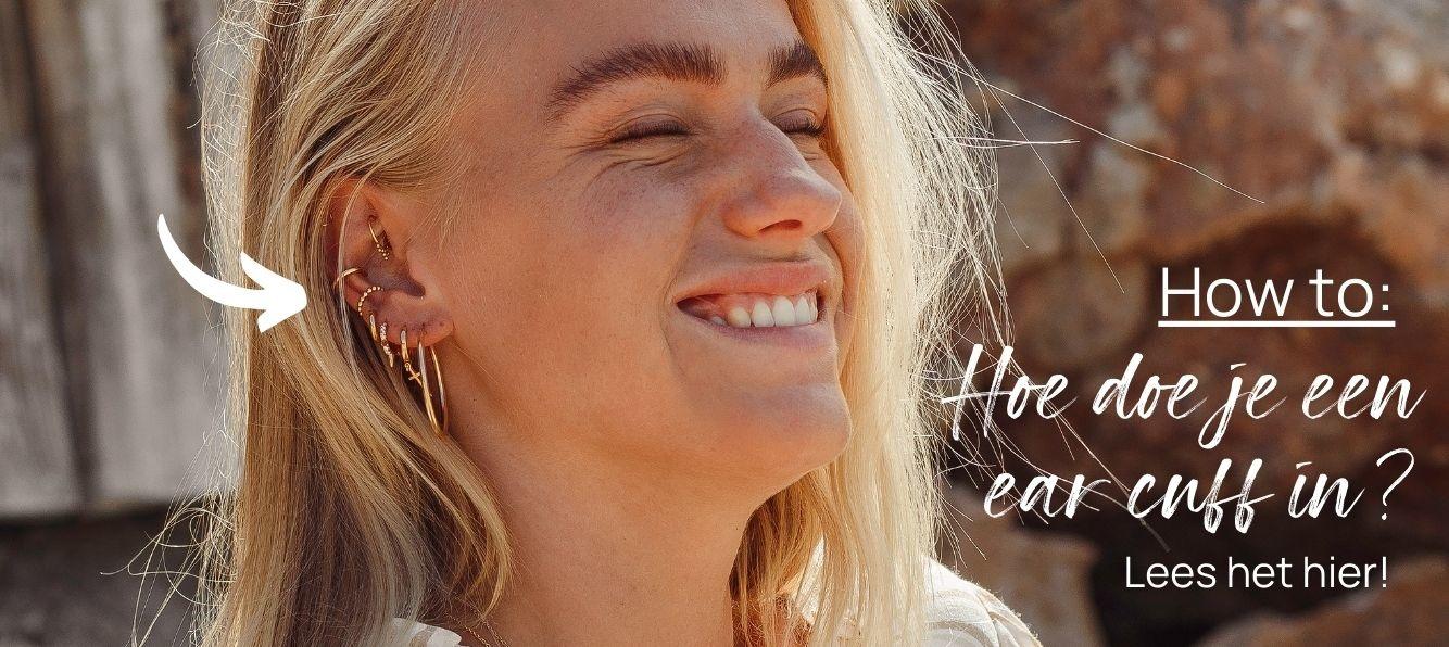 How to: Hoe doe je een earcuff in?