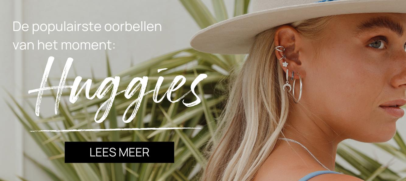 De populairste oorbellen van het moment: huggies!
